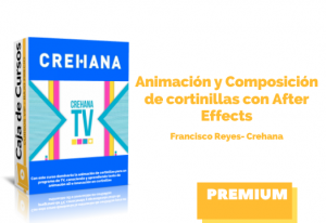 Animación Composición de cortinillas After Effects