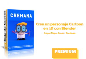 Crea personaje Cartoon 3D con Blender