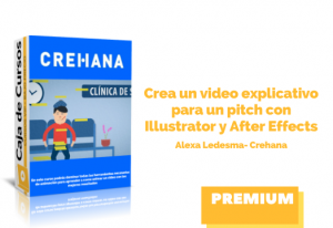 Crea video explicativo pitch Illustrator y After Effects