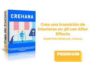 Crea una transición de interiores 3D con After Effects