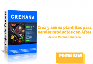 Crea y anima plantillas para vender productos con After