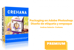 Packaging en Adobe Photoshop: Diseño de etiqueta y empaque